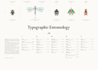 Typographic Entomology